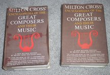 Milton Cross' Encyclopedia of the Great Composers and Their Music: A New Revised Edition (2 Volumes BOXED), Milton Cross