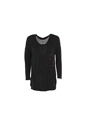 T-shirt Donna Yes-zee T017 C900 Nero Autunno/Inverno Nero S