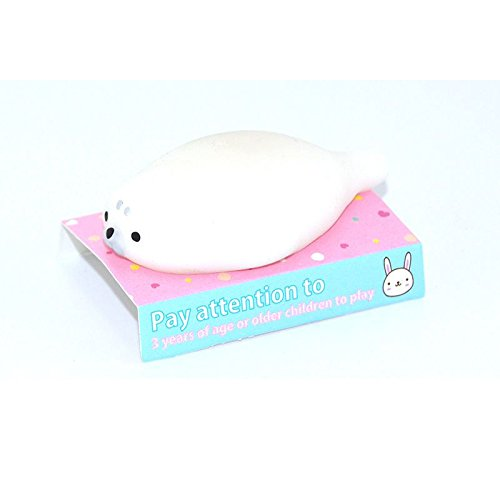 [Kawaii Stretch Mochi Squeeze With Box Kid Toy Soft Press Doll Squishy] (Giant Monster Costume For Sale)