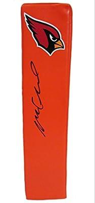 Michael Floyd Autographed / Signed Arizona Cardinals Logo Football Touchdown End Zone Pylon, Proof Photo