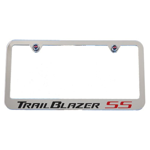 Stainless Steel Acura TL Logo Bright Mirror Chrome License Plate Frame Tag