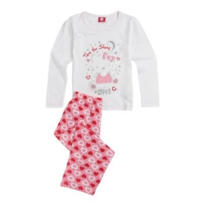Character-Girl's pink 'Hello Kitty' pyjama set