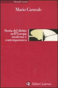 Cover Storia del diritto nell'Europa moderna e contemporanea