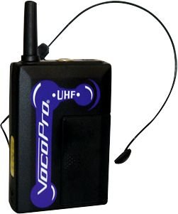 VocoPro UHF-BP1 Wireless UHF Headset CH O