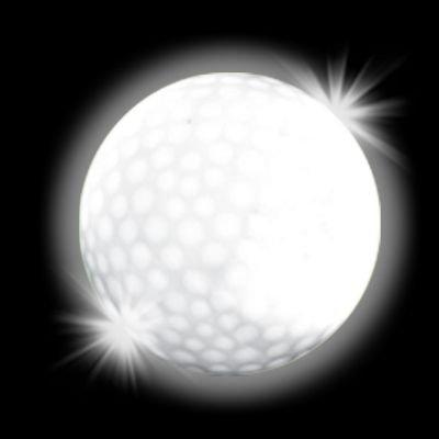 Windy City Novelties Novelty LED Golf Ball, White - 1