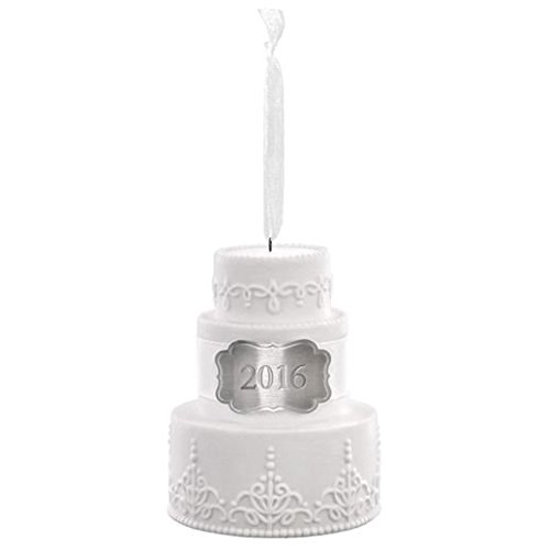 Hallmark Keepsake Ornament 2016 Wedding Cake