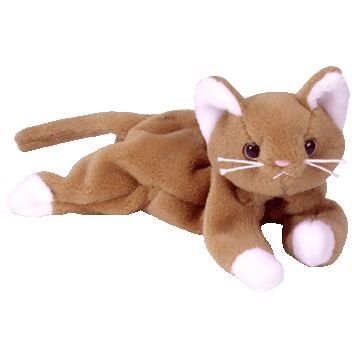 TY Beanie Baby - NIP the Gold Cat