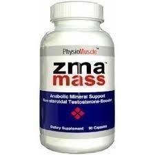 ZMA MASS 180 caps Advanced Anabolic Mineral Support. Magnesium Asparatate, Zinc, Vitamin B6