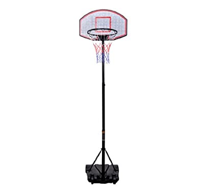 B6-0002 Youth Indoor/Outdoor Adjustable Height Portable Basketball Hoop Set