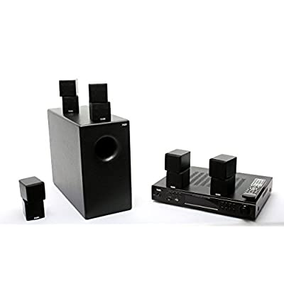 Panda Audio 5.1 Digital Home Theater System (Grey)