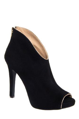 Jessica Simpson Abbear High Heel Open Toe Bootie