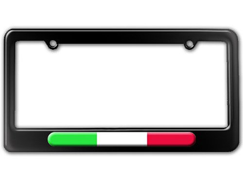 Italian Flag - Italy License Plate Tag Frame (Frames Italian compare prices)