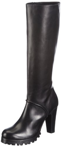 Buffalo London 1021-5 N COW Boots Womens Black Schwarz (BLACK 01) Size: 7 (41 EU)