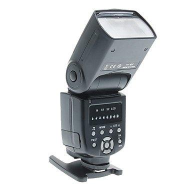 Flash-Ddltriopo Ws-560 Universal Led Flash Speedlite Speedlight For Nikon/Canon/Olympus/Pentax