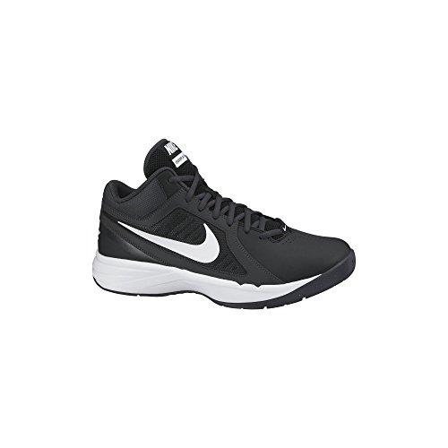 Women's Nike Nike Overplay VIII Basketball Shoe Black/Anthracite/White Size 10 M US