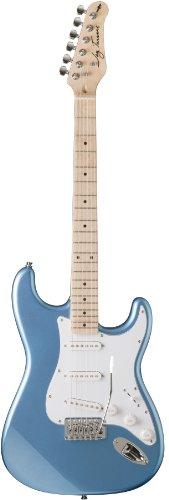 Jay Turser Jt-300M-Lpb Solid-Body Electric Guitars, Lake Placid Blue