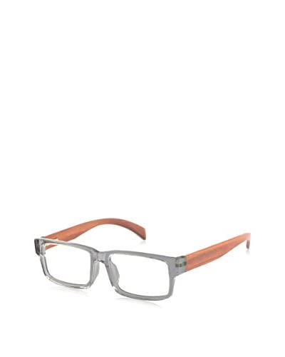 Ivory + Mason Men's A3202 Pico Eyewear, Crystal/Cherry