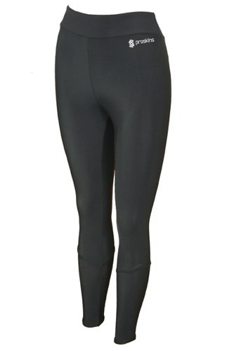 Proskins Slim Full Length Leggings (UK 14) Black