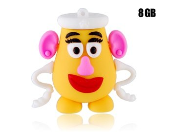 Euroge Tech 8gb Usb Flash Drive Memory Stick Mrs. Potato Head Picture