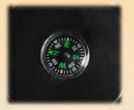 3 X er Set CAMPINGLAMPEN / GARTENLAMPEN / FREIZEITLAMPEN mit 12 LED + Kompass in 3 Farben Blau - Rot - Silber