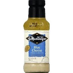 La Martinique Blue Cheese Vinaigrette Dressing 10 OZ. (Pack of 18)