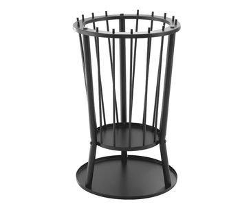 Feuerkorb Rund, lackierter Stahl, Durchmesser 40cm, Höhe 62cm online bestellen