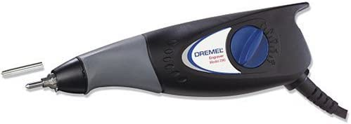 Dremel 290-01 0.2 Amp 7,200 Stroke Per Minute Engraver includes Letter and Number Template