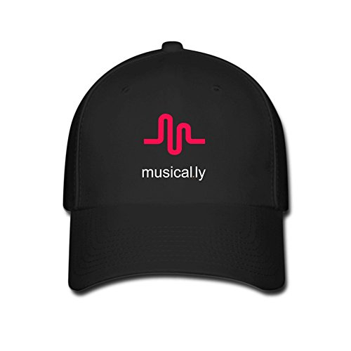 fkhaos-musical-ly-logo-classic-gorras-de-beisbol