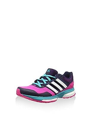 adidas Zapatillas Response 2 (Rosa / Azul Marino)