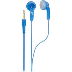 JVC HAF130A Blue Gumy Headphone