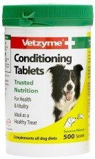 Vetzyme Conditioning Tablets 500 Tablets (Vetzyme Conditioning Tablets compare prices)