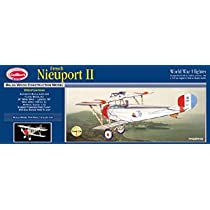 French Nieuport 11 Balsa Model Airplane Guillows