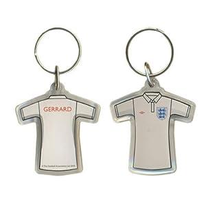 England FA Steven Gerrard Keyring