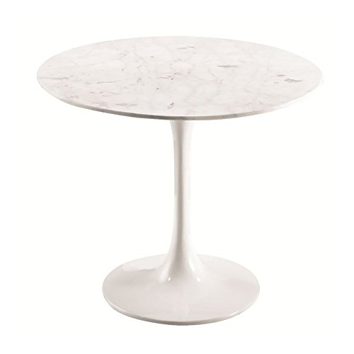 Antique White Vanity Table front-954319