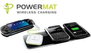 Powermat Wireless Charger Bundle: 3-position home/office Mat + Powercube U