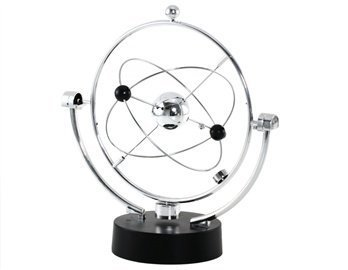 Celestial Bodies Orbiting The Milky Way Motion Motion Desk Toy (Silver)