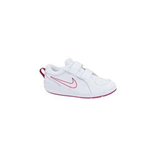 Nike Pico 4 PSV Scarpe sportive, Bambina, White/Prism Pink-Spark, 29.5