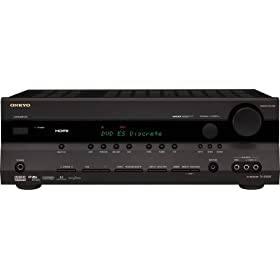Amazon - Onkyo TX-SR505 7.1-Channel Home Theater Receiver - $189.97 shipped