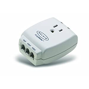 Belkin MasterCube 1-Outlet Wall-Mount Surge Protector