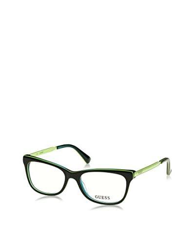 Guess Montatura Gu 2487 (51 mm) Nero/Verde