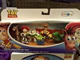 Two Inch High Tall Mini Figure Gift Set Toy Story / Canyon Adventure - Gift Pack With Hero Woody, Bullseye, Jessie. Hero Buzz Lightyear, Slinky Dog, Rex, Two Eyed Alien Mattel