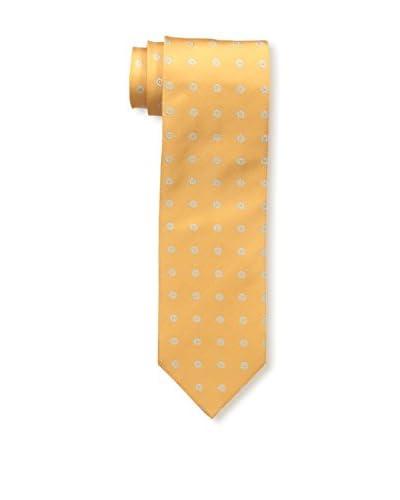 Borrelli Men's Floral Tie, Orange