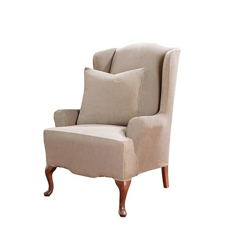 Wing Chair Slipcovers April 2012 If Finding The Best Cheap Wing Chair Slipc