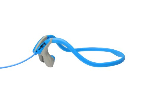 Urbanz Sportz Running Sports Gym Neckband Headphones (Blue)