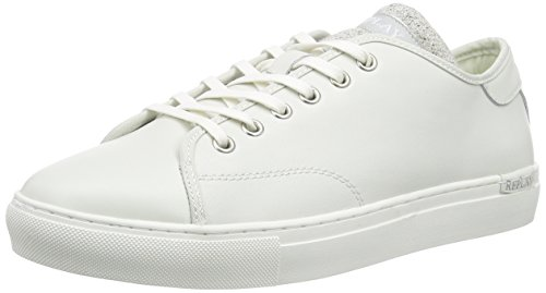 REPLAY Bushey, Herren Sneakers, Weiß (OFF WHT 41), 43 EU thumbnail