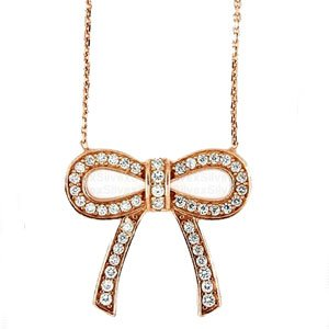 312I1k55w7L [Korean Drama Fashion] Big, Lee Min Jung ()   Rose Gold Jewelry Necklace and Earrings Set
