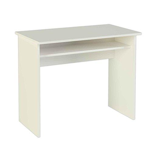 meka block k 9465b schreibtisch 90 cm breit farbe wei. Black Bedroom Furniture Sets. Home Design Ideas