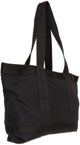 LeSportsac Medium Travel Tote,Black,One Size