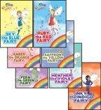 img - for The Rainbow Magic Fairies (Original) Complete Set 1-7: Ruby the Red Fairy, Amber the Orange Fairy, Saffron the Yellow Fairy, Fern the Green Fairy, Sky the Blue Fairy, Inky the Indigo Fairy, & Heather book / textbook / text book