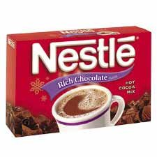 Nestle' Usa : Hot Chocolate Mix, Rich Chocolate, .71 Oz, 50/Bx -:- Sold As 2 Packs Of - 50 - / - Total Of 100 Each